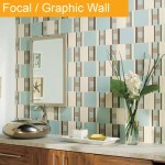 Bathroom Focal Wall tile trend