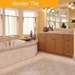 Border Tile bathroom tile trend