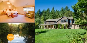 The Brookside Inn near Portland is a great bed and breakfast getaway