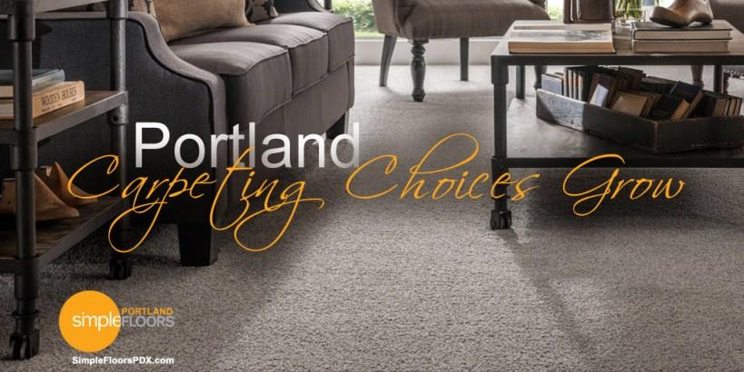 Portland Carpeting Choices Grow