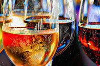 Portland Art - white wine