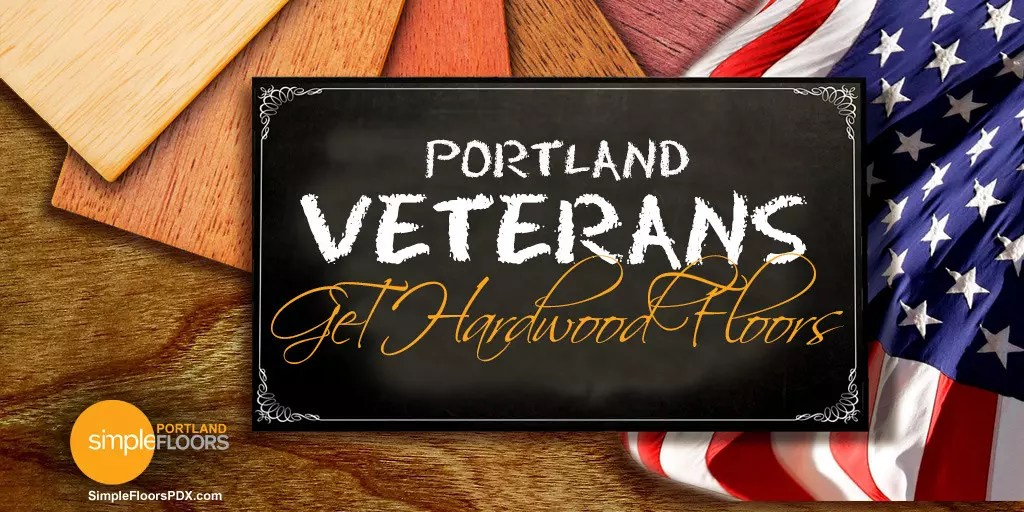 Portland Veterans Get Hardwood Floors