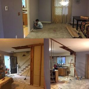 PDX Wood Floor Before