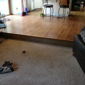 Portland Wood Flooring Project Before