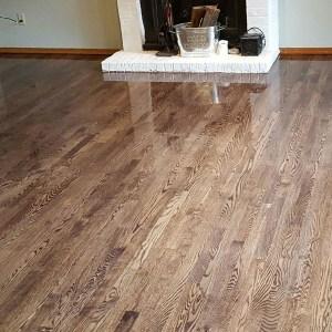Beaverton Wood Flooring Project During