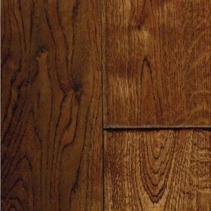 Golden Saddle Handscraped Oak Solid Wood Floor