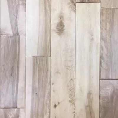 Natural Birch Handscraped Oak Solid Hardwood Floor