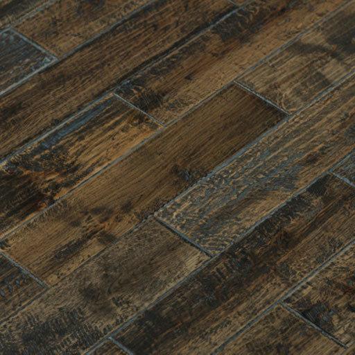 Adori handscraped oak solid wood floor part 1 for Reclaimed wood flooring portland