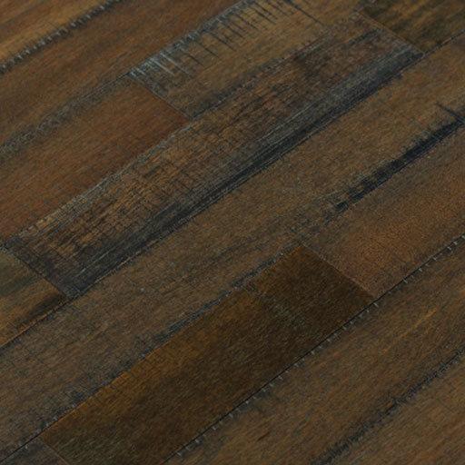 danaloo hand scraped mahogany solid wood flooring