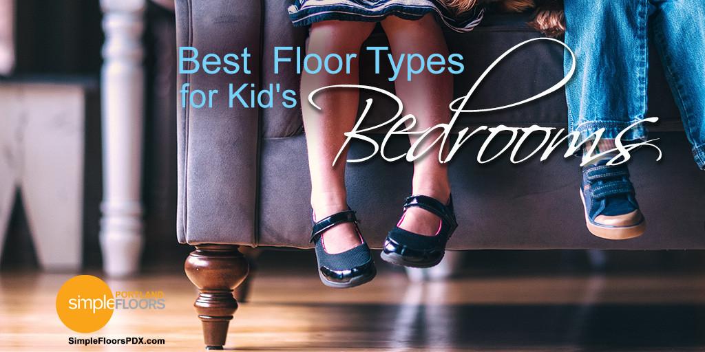 Kids bedroom flooring