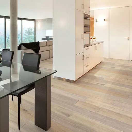 British Isles Swansea Wire Brushed European Oak Wood Flooring