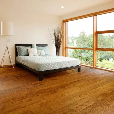 Johnson Hardwood Frontier engineered wood flooring Homestead