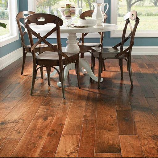 Johnson Hardwood Chianti Handscraped Walnut Engineered Wood Floor