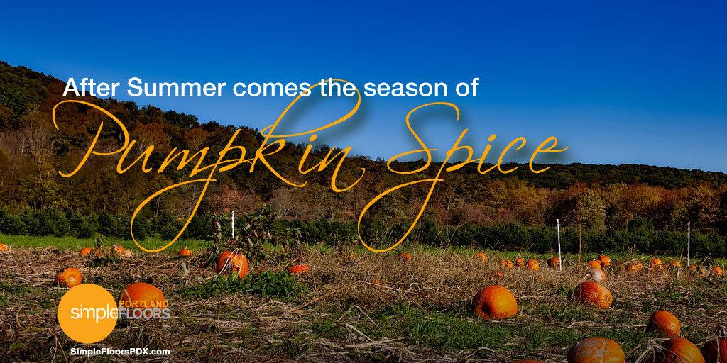 Fall is Pumpkin Spice season
