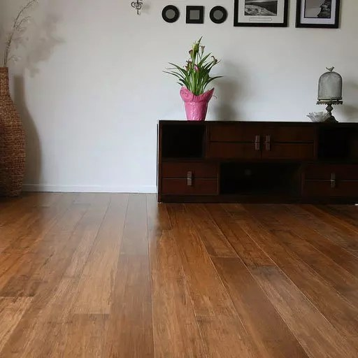 family room bamboo flooring