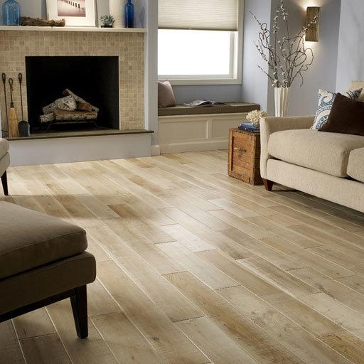 Natural solid wood floors
