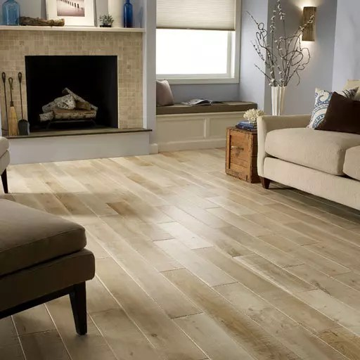 Natural solid wood floors
