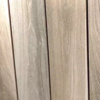 Wood-look tile flooring