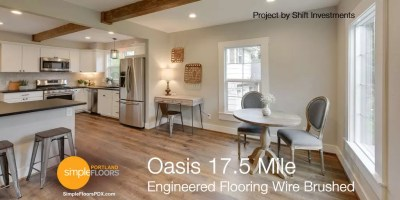 Engineered Wood Flooring Wire Brushed - Oasis