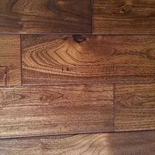 French Country Golden Teak Handscraped Hardwood Flooring