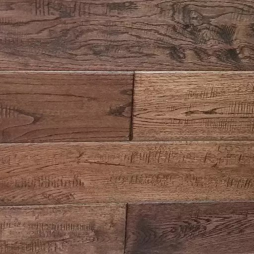 Brown Bear Solid Oak Handscraped Wood Flooring Part 1