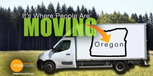 Oregon ranked second for moves into the state