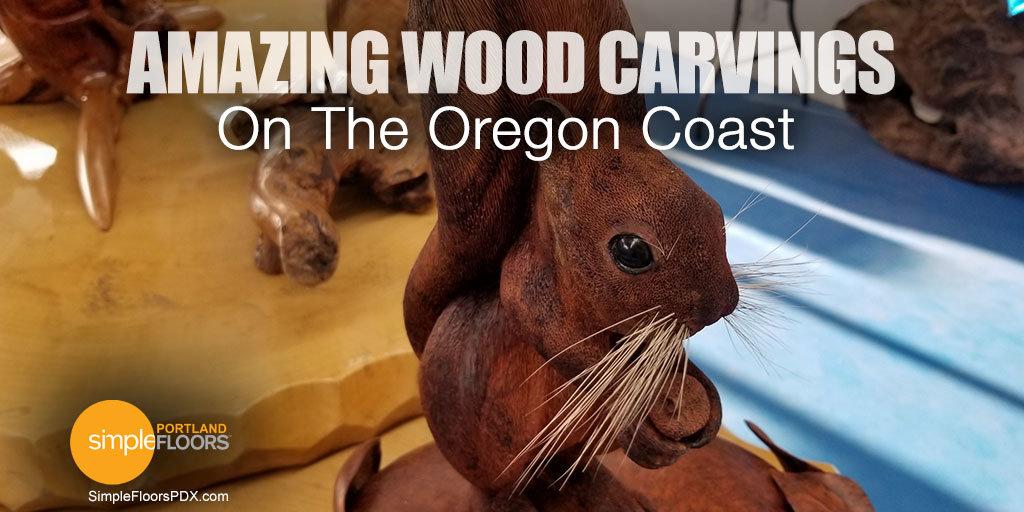 Oregon Coast Art - The best wood carvings