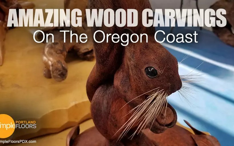 Oregon Coast Art - The best wood carvings