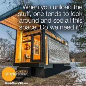Are tiny homes better than large homes in Portland?