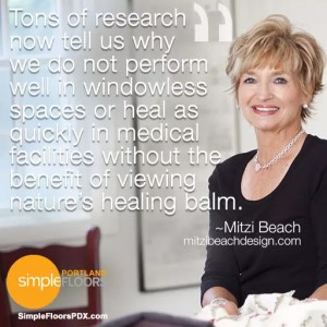 Mitzi Beach on biophilic design