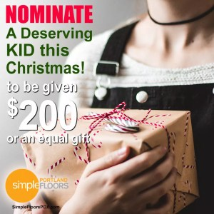 Christmas kid nomination in Portland
