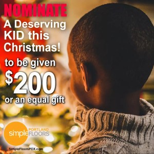 nominate a Portland child for $200 this Christmas