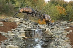 Caswell Sculpture - The Battle