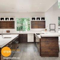 clean lines - Portland kitchen remodel