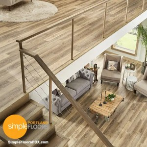 Portland luxury vinyl tile flooring - options