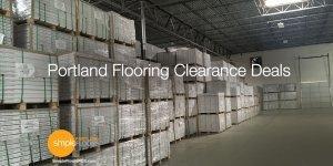 Flooring closeouts - Porland