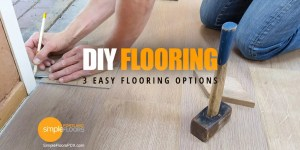 Dp-It-Yourself Flooring Project