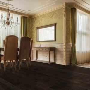 Johnson Green Mountain Ludlow Oak Solid Hardwood Flooring scene