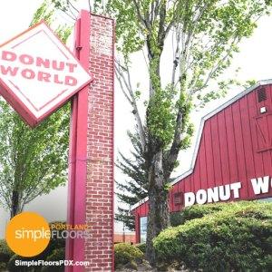 Portland Donut World - Gresham