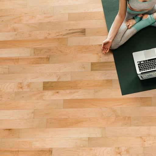 Naturally Aged Palomino Engineered Hardwood Floor - Maple