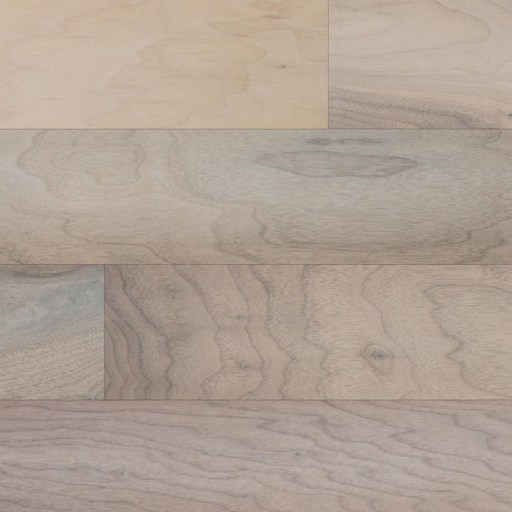 Closeup Naturally Aged Roan Engineered Hardwood Floor - Walnut