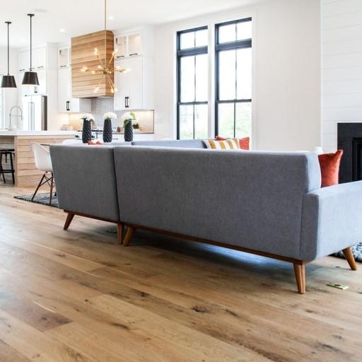 Naturally Aged Willow Wind Engineered Hardwood Floor - Oak