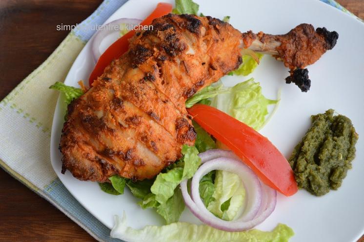 Chicken Tandoori Simple Gluten Free Kitchen