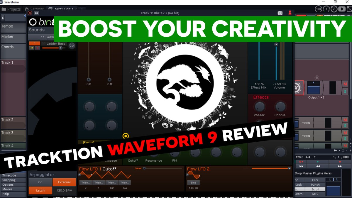Tracktion Waveform 9 Review – Simple Green Tech – Audio Tech Reviews