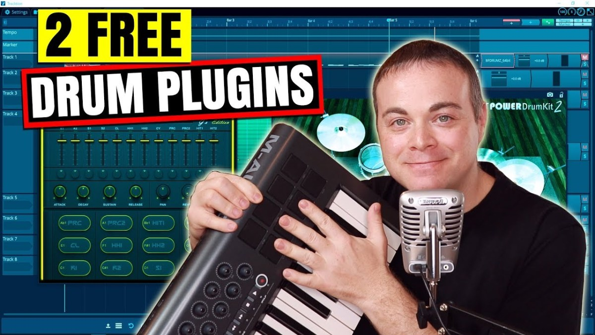 2 Free VST Drum Plugins for Windows – Simple Green Tech