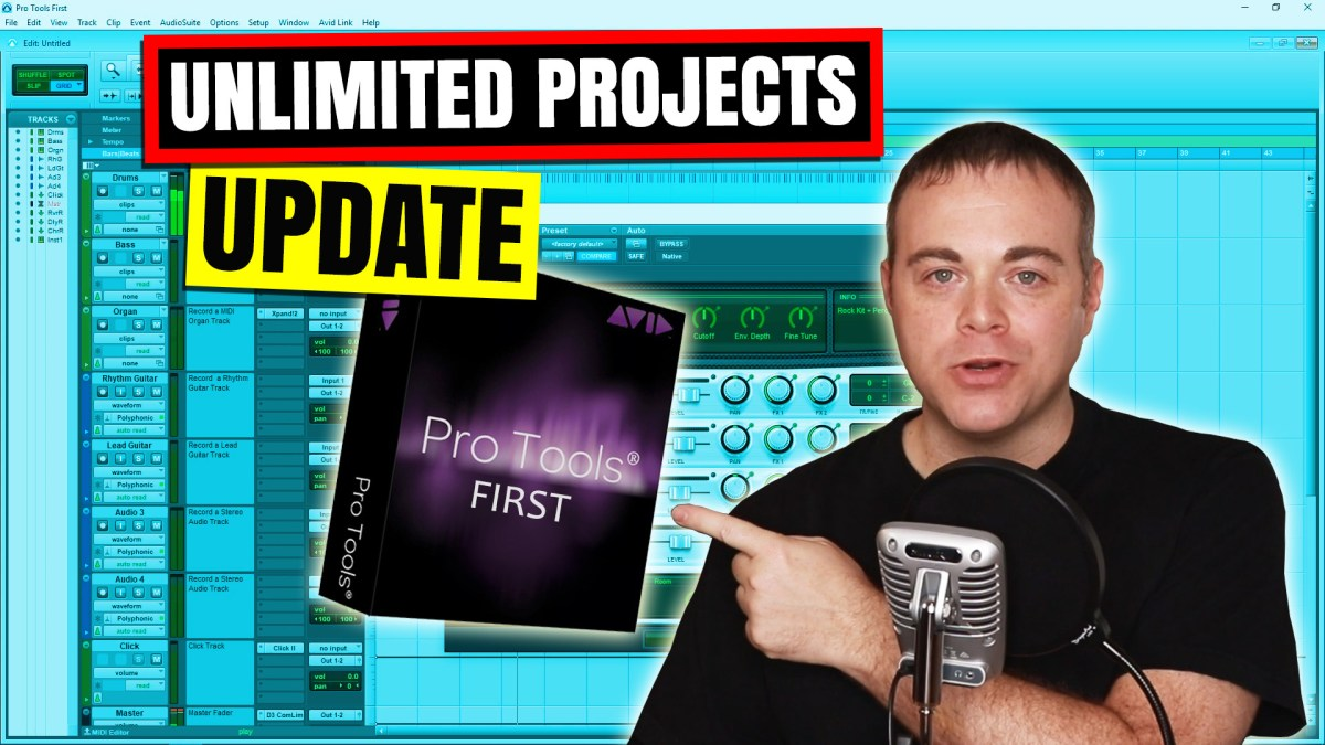 Pro Tools First Limitations Update May 2019 – Simple Green