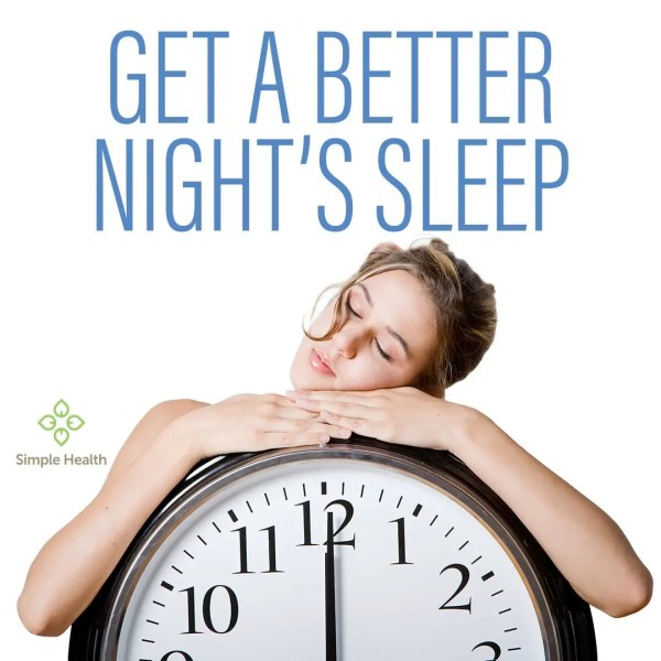 GET A BETTER NIGHT'S SLEEP