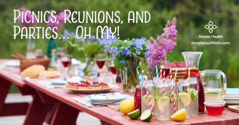 Picnics, Reunions, and Parties… Oh My!