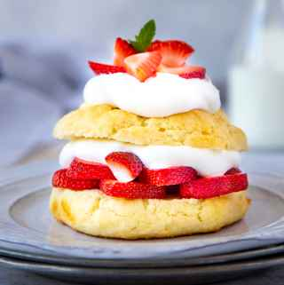 Gluten-Free Strawberry Almond  Shortcake