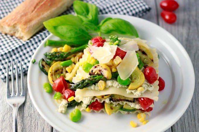 summer lasagna featured